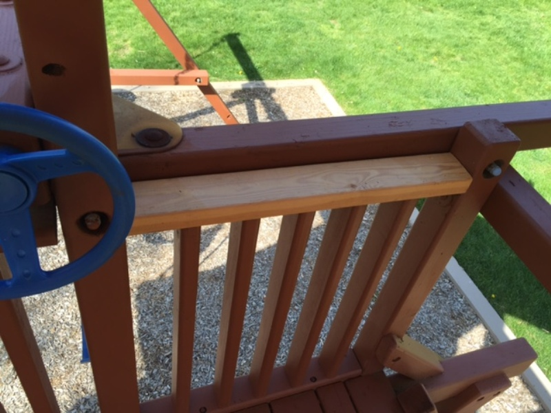Rainbow Swing Set Rail Replacement 2016