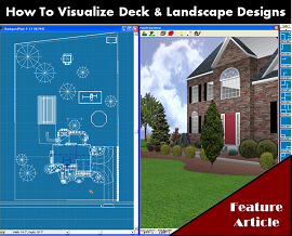 How To Visualize Deck and Landscaping Design Ideas