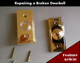 Troubleshooting and Repairing a Broken Doorbell