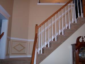 Stairway Shadow Box Design