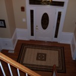 Hall and Stairway Trim Work – Low Maintenance Shadow Boxes