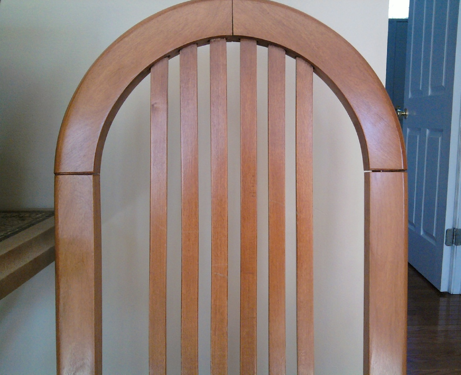 Superb img of Scratch Repair for Wood Chairs & Rails: 10 Minute Fix All About The  with #2F4967 color and 1469x1195 pixels