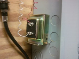 troubleshooting  repairing  broken doorbell