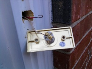 Removing and Testing the Doorbell Push Button