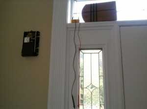 Testing Voltage to the Interior Doorbell Unit