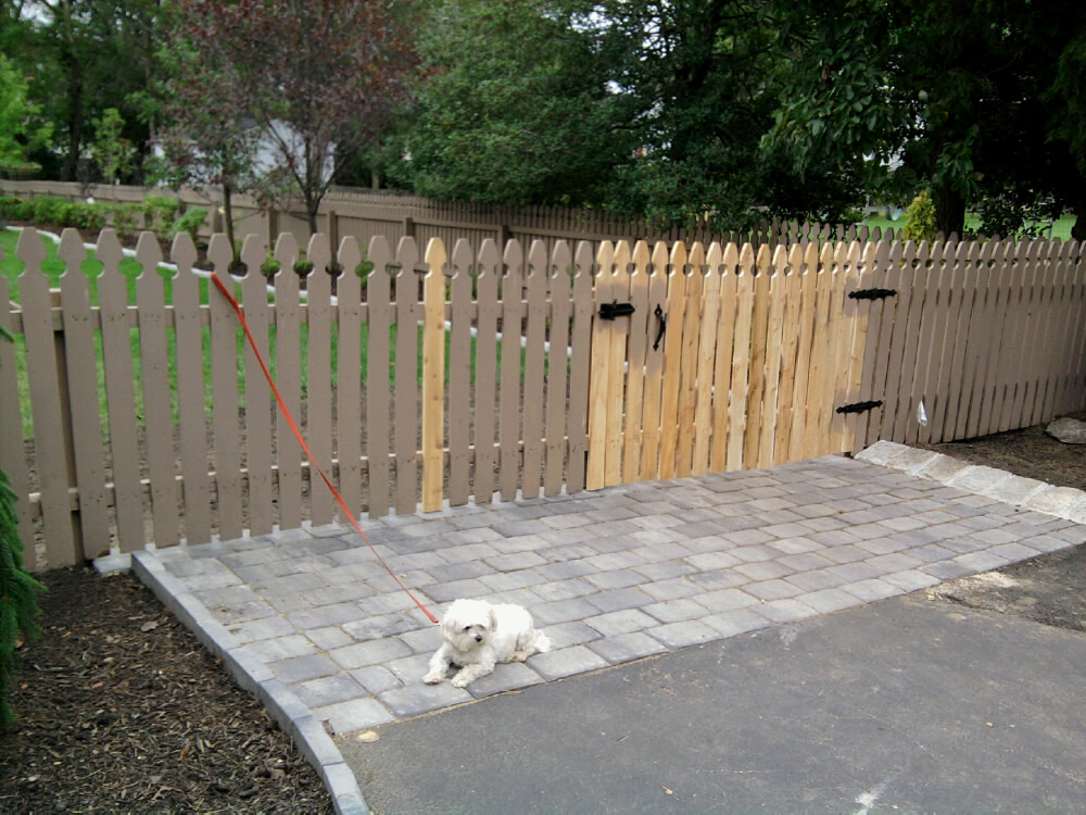 Building A Removable Wood Fence Section And Gate All
