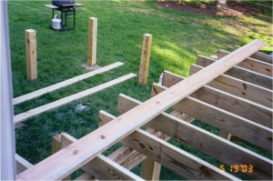 Deck Construction Photo 3 - Substructure