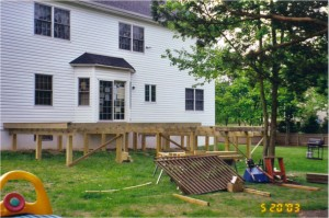 Deck Construction Photo 4 - Substructure
