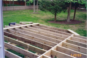 Deck Construction Photo 5 - Substructure