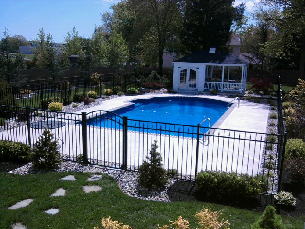 refreshing a swimming pool landscape - all about the house