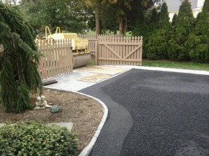 Asphalt Paving and Roller