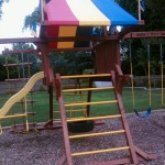To Rehab a Redwood Swing Set