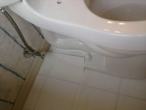 Attaching the Toilet Water Line