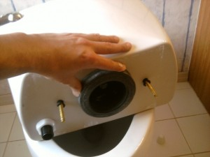Connect Toilet Tank to Bowl