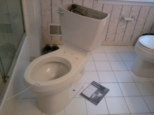 New Toilet Rough Assembly