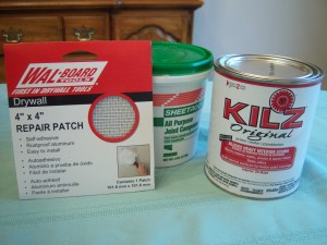 Drywall Repair Materials