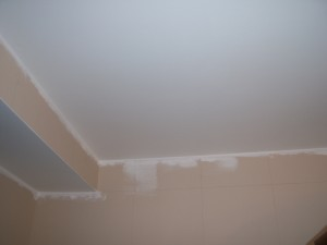 The Final Ceiling Drywall Repair After Painting