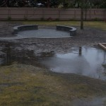 Backyard Surface Water Runoff Issue - Ponding