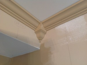 Crown Molding with Corner Block