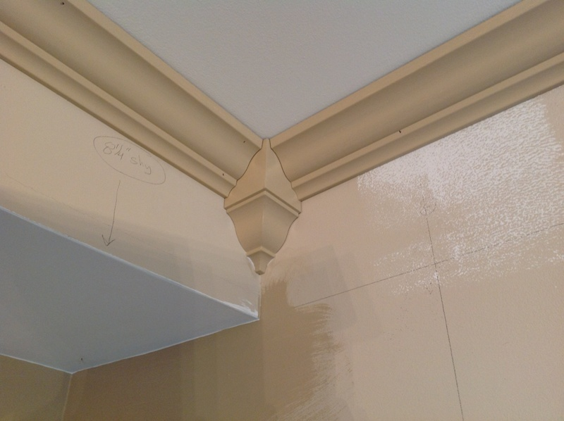 how to cut inside corner trim with miter box
