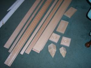 Casing, Rosettes, Crown Moldings, Plinth Blocks and Corner Blocks