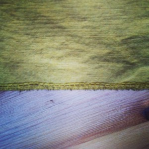 Hemming Bottom of Custom Curtains