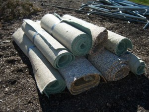 Carpet Bundles to Dump