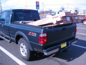 Transporting Hardwood Flooring