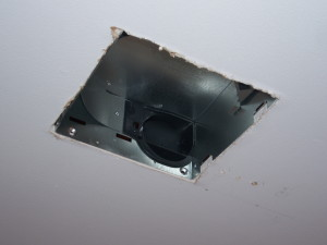 Bathroom Exhaust Fan Housing Installation 2