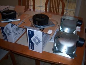 Bathroom Ventilation Fan Preparation