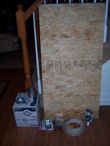 Bathroom Venting Fan Installation Materials