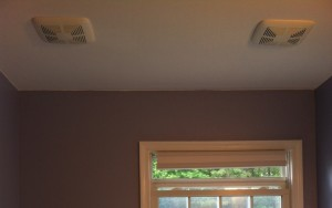 Final Bathroom Ventilation Fan with Covers
