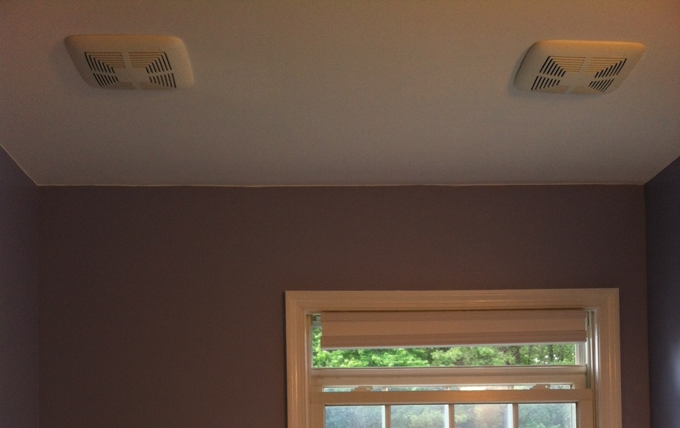 Bathroom Exhaust Fan Cover installing a bathroom ventilation fan - all about the house