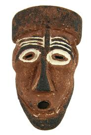 African Mask Interior Decorating