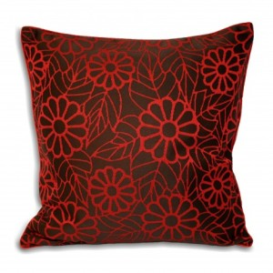 Red Cushion Cover for Interior Decorating