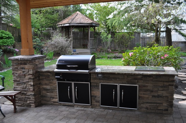 Garden patio paver pals pattern, patio outdoor kitchen designs, pics ...