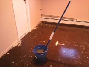 Clean and Preparing the Floor for Carpet Tiles