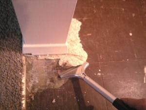 Scraper Tool for Vinyl Flooring Removal