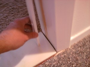 Positioning Door Jamb with Marble Saddle