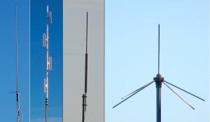 136 to 174 MHz Base Station Antennas