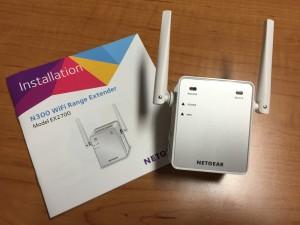 Netgear N300 WiFi Extender Model EX2700