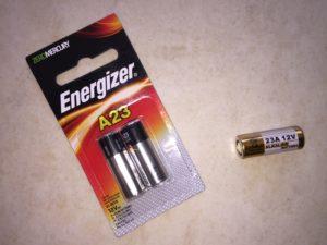 A23 Energizer Batteries