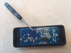 Changing Battery in Wireless Doorbell Button