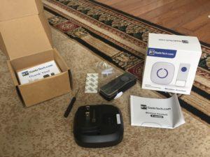 Waterproof Wireless Doorbell Parts