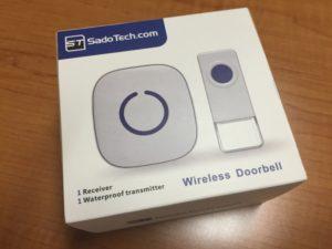 Waterproof Wireless Doorbell Unit