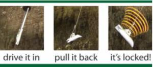 Duckbill Earth Anchors How They Work