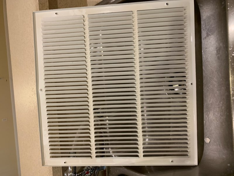 Replacing a Central Air Conditioner Return Vent Cover - All
