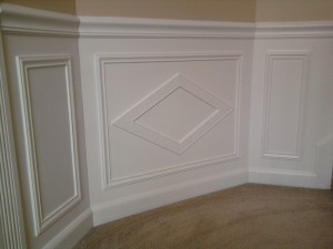 Stairway Landing Shadow Box Design 2