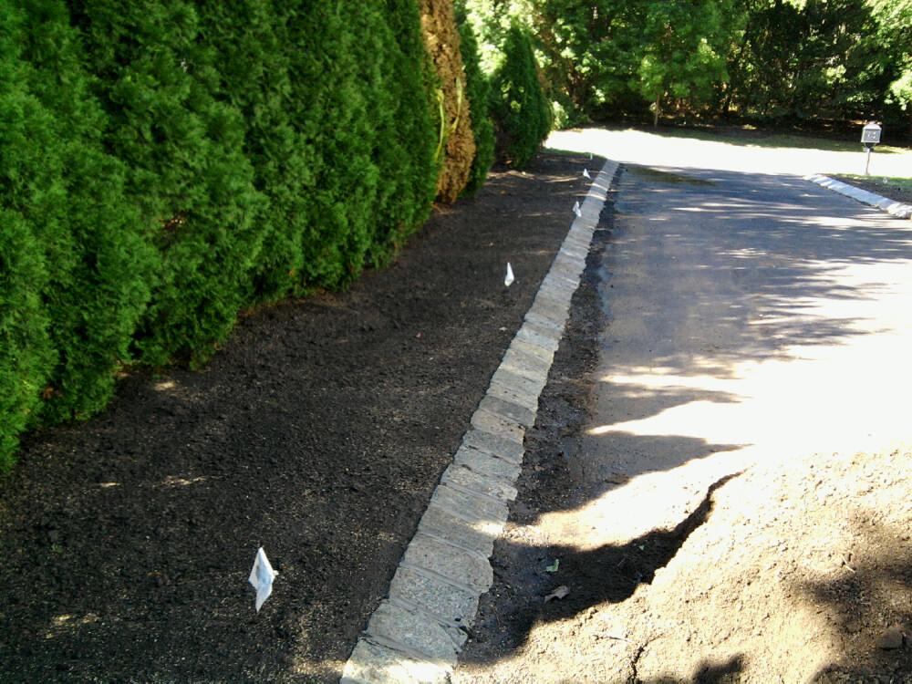 Belgian Block and Pavers - Dressing Up an Asphalt Driveway ...