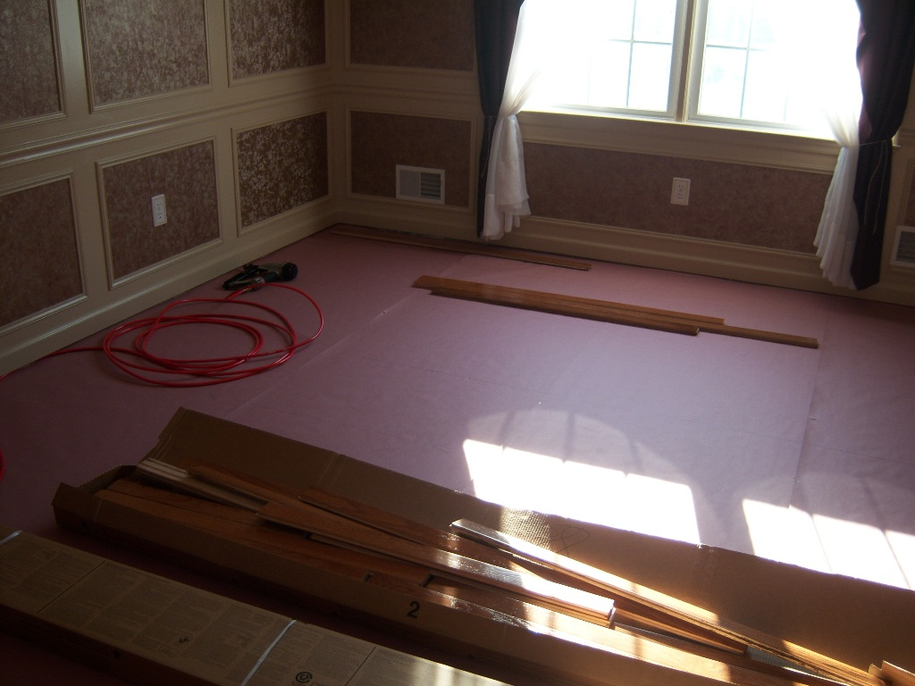 laying first hardwood youtube time watch flooring floor install